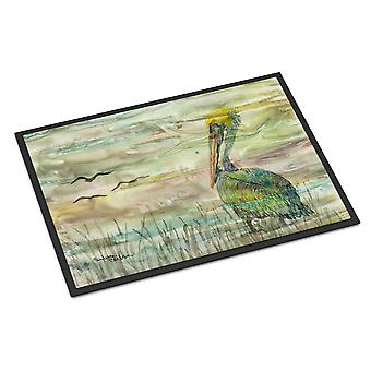 Carolines Treasures  SC2012MAT Pelican Sunset Indoor or Outdoor Mat 18x27