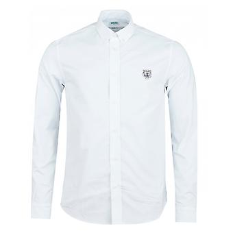 Kenzo Tiger Crest Casual Fit Twill Shirt