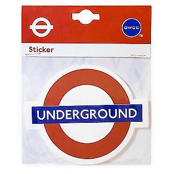 Tfl™5112 licensed leicester square roundel™ vinyl sticker