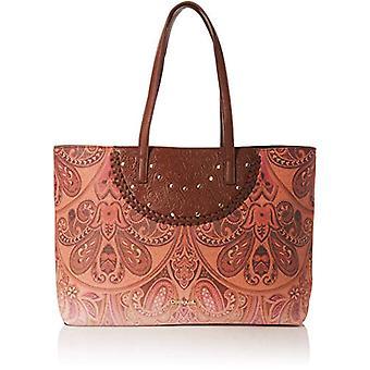 Desigual Bols_winter Valkyria_redmond - Brown Women's Shoulder Bags (Leather Brown) 13x29x38 cm (B x H T)