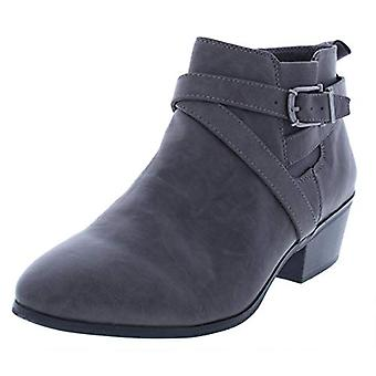 Style & Co. Womens Harperr Faux Leather Almond Toe Booties