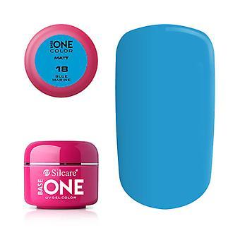 Base one-Matte-Blue marine 5 g UV-gel