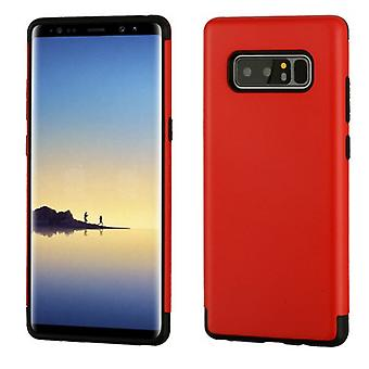 Red Glossy/Black Hybrid Case for Galaxy Note 8