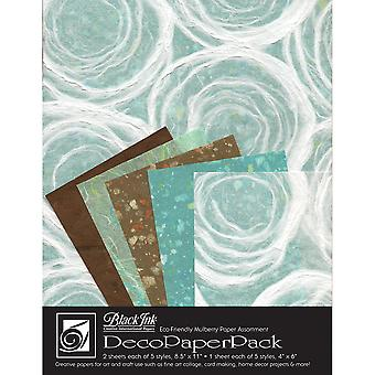 Deco Paper Pack By Black Ink Papers-Whimzy DP-706
