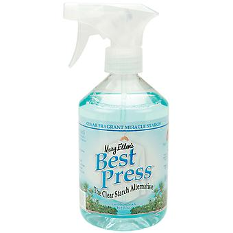Mary Ellen's Best Press Clear Starch Alternative 16 Ounces Caribbean Beach 600Bp 33