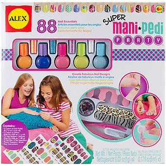 Super Mani Pedi Party Kit 126 X