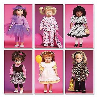 Clothes And Accessories For 18 Doll  One Size Only Pattern M6005  Osz