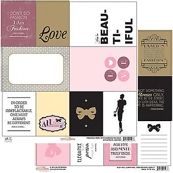 All Dolled Up Double Sided Heavy Weight Paper 12