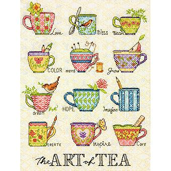 The Art Of Tea Counted Cross Stitch Kit-9