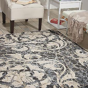 Rugs -Maxell MAE10 - Ivory / Charcoal