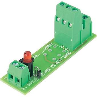Relay card unequipped 1 pc(s) 4 - 30 Vdc Conrad Components REL-PCB2 0 2 change-overs 5 Vdc, 12 Vdc, 24 Vdc