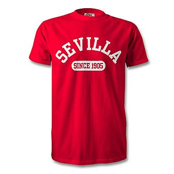 Sevilla 1905 Established Football T-Shirt