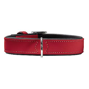 Hunter Softie 50 nabuk regolabile collare rosso 36-44cm