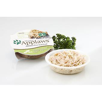 Applaws kat Pot mørt kyllingebryst med ris 60g (pakke med 10)