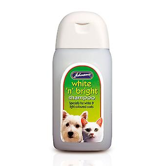 Jvp Dog & Cat White 'n' Bright Shampoo 125ml (Pack of 6)
