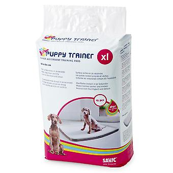 Puppy Trainer fylla 15 Pads Extra stor 90x60cm