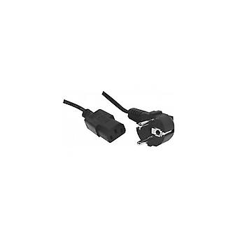 EXC AC Power Cord cord set appliance cord 1-8 m-Angled