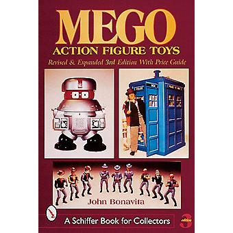 Mego Action Figure Toys (Schiffer Book for Collectors) (Paperback) by Bonavita John
