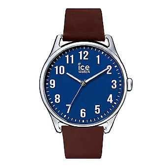 Temps de glace de Ice-Watch grand bleu brun (013048)