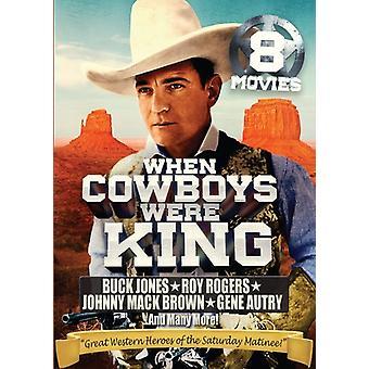 Cuando los vaqueros eran rey: 8 importar de Estados Unidos colección de películas [DVD]