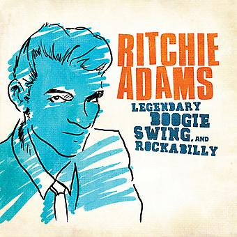 Ritchie Adams - legendarische Swing Boogie & Rockabilly: Ritchie Adams [CD] USA import