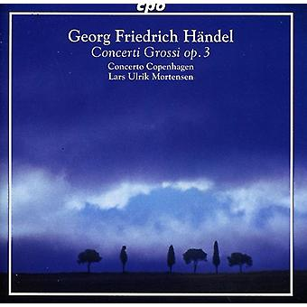 G.F. Handel - H Ndel: Concerti Grossi, Op. 3 [CD] USA import
