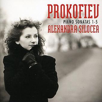 S. Prokofiev - Prokofiev: Importación de USA Piano Sonatas nos. 1-5 [CD]