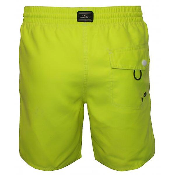 O'Neill PM Sunstruck Swim Shorts, New Safety Yellow