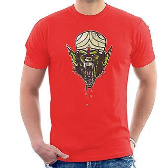 Dawn af Mojo Powerpuff Gilrs Planet af menneskeaberne mænd T-Shirt