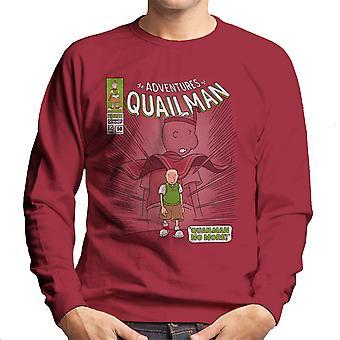 Quailman ikke mere Doug Comic superhelte mænds Sweatshirt
