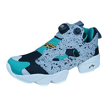 Reebok Instapump Fury SP Boys Trainers / Shoes - Grey and Black