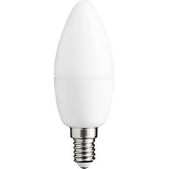 LED E14 vela 6 W = 46 W Warm white (Ø x L) 38 mm x 105 mm EEC: a + Sygonix 1 PC