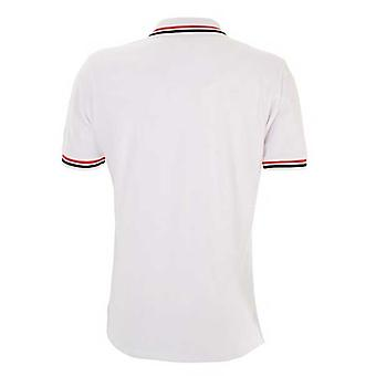 BLK stade toulouse rugby media polo [white]
