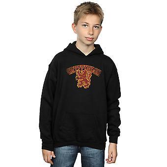 Harry Potter Boys Gryffindor Sport Emblem Hoodie