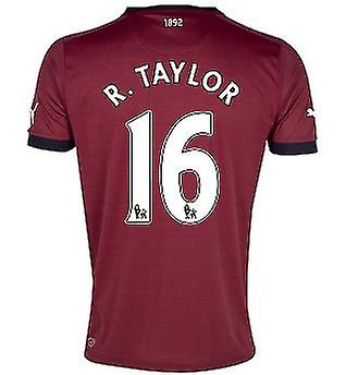 2012-13 Newcastle Puma Away Shirt (R.Taylor 16)