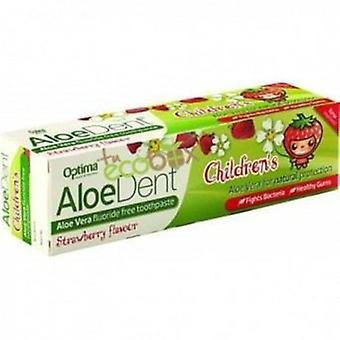 Madal Bal Aloe Vera Toothpaste Without Fluor (Strawberry) Children 50 Ml.