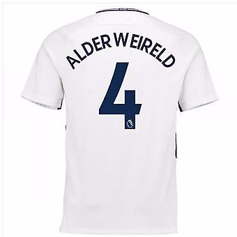 2017-18 Tottenham hem skjorta (Alderweireld 4) - barn