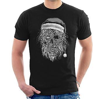 Zombie Santa Men's T-Shirt