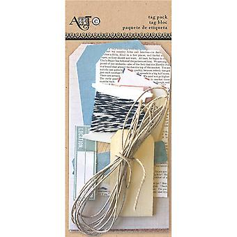 Art-C Tag Pack Kit 16 Pieces-Office ACCTP-27379