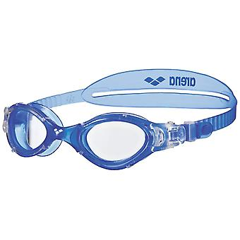 Arena Nimesis Crystal Medium Swim Goggle- Clear Lens - Blue/Clear