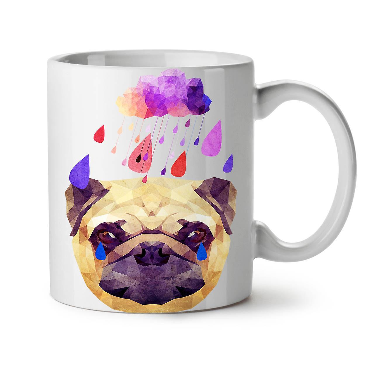 Céramique Dog Café Blanc Pluie 11 Tasse Nouveau OzWellcoda Drôle Thé Pug Cool vnw8Oy0mN