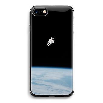 iPhone 7 Transparent Case (Soft) - Alone in Space