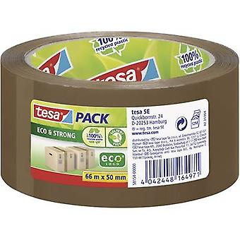 Tesapack® Eco & Strong 66 m x 50 mm Brown