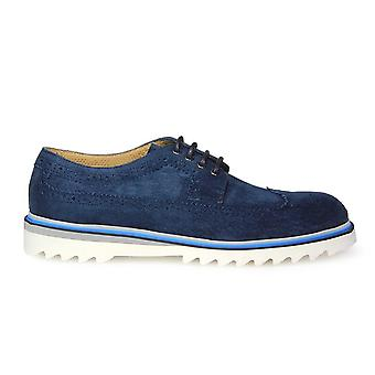 Triver flight mens 88001 Blue Suede moccasins