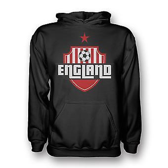 England landet Logo Hoody (svart)
