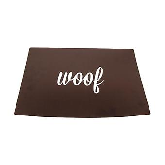 Woof Placemat Black