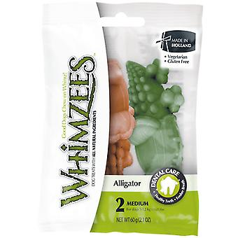 Whimzees Alligator Medium 2 Pack
