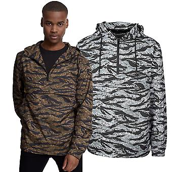 Urban classics - TIGER PULL OVER Windbreaker jacket camo