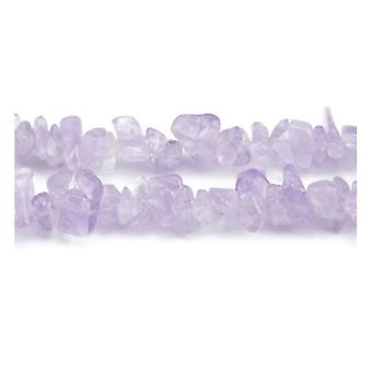 Long Strand 230+ Lilac Cape Amethyst 5-8mm Chip Beads Y08405
