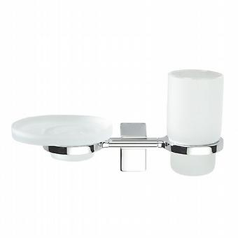 Eletech Soap Dish and Tumbler 114139